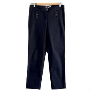89th + Madison Navy Ankle Pants